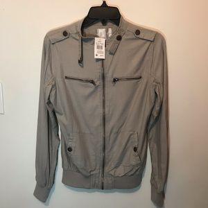 Vanity light bomber jacket NWT